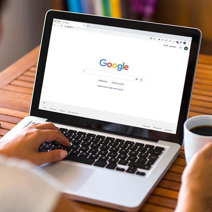 Google -mainonta